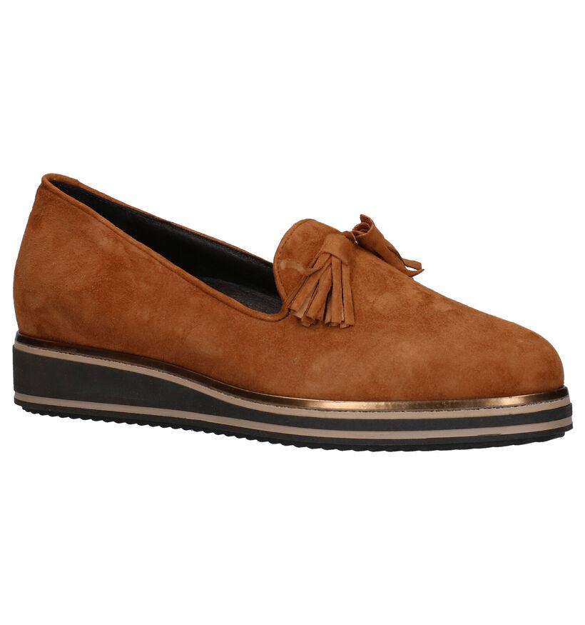 Via Limone Chaussures slip-on en Écru en nubuck (273077)