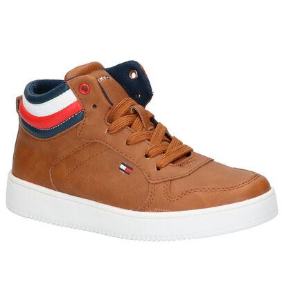 Tommy Hilfiger Chaussures hautes en Cognac en simili cuir (257341)
