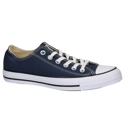 Converse All Star OX Sneakers Zwart in stof (266503)