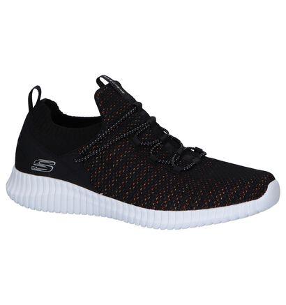 Zwarte Slip-on Sneakers Skechers , Zwart, pdp
