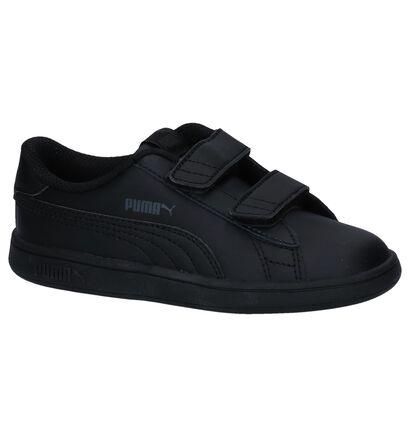 Zwarte Sneakers Puma Smash in kunstleer (252638)