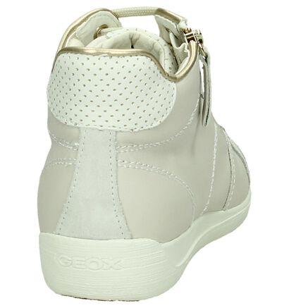 Geox Ecru Sneakers met Rits/Veter, Beige, pdp