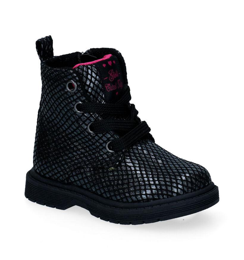 Sprox Chaussures pour bébé  en Noir en simili cuir (297205)