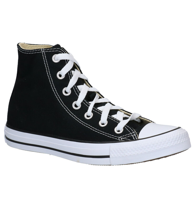 Converse Chuck Taylor AS Zwarte Sneakers in stof (287138)
