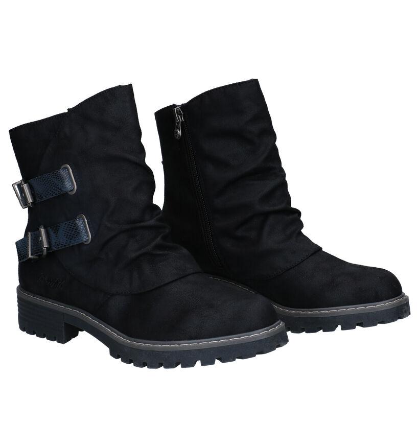 Blowfish Malibu Zwarte Boots in kunstleer (279213)