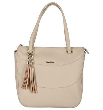Licht Beige Shopper Tas Kisses Of Pearl Chloe, Beige, pdp