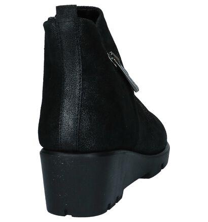 The Flexx Bottillons en Noir en cuir (223781)