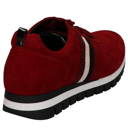 Gabor Comfort Chaussures à lacets en Vert kaki en daim (260093)