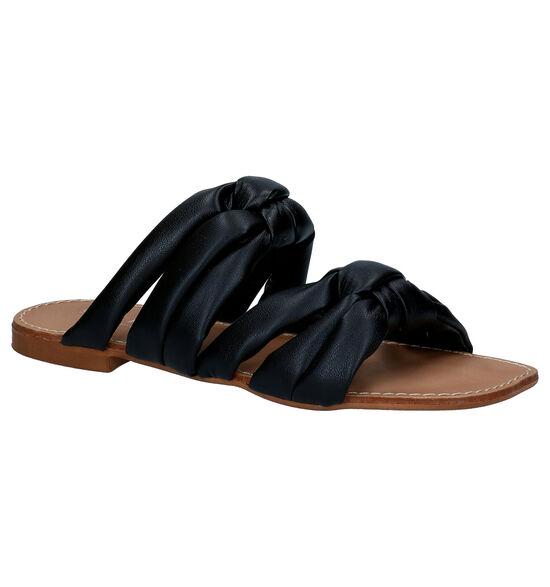 Scapa Zwarte Slippers