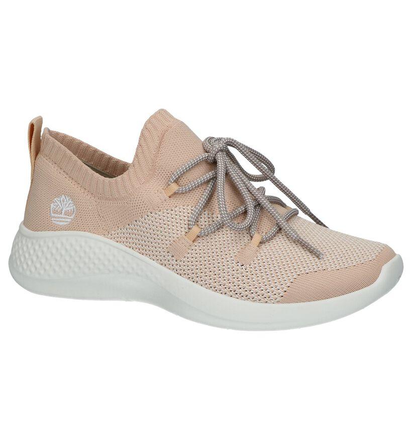 Flyroam Baskets slip-on en Rose saumon en textile (240507)