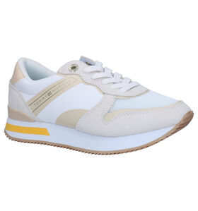 Tommy Hilfiger Femine Active Witte Sneakers in stof (268577)