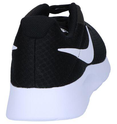 Nike Tanjun Baskets basses en Noir en textile (250311)
