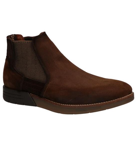 Braend Chelsea Boots en Brun foncé