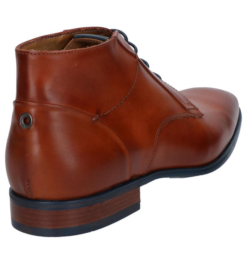 Giorgio Chaussures habillées en Cognac en cuir (274871)