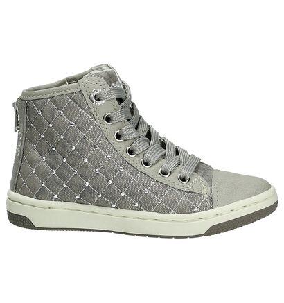 Grijze Hoge Sneaker Geox, Grijs, pdp
