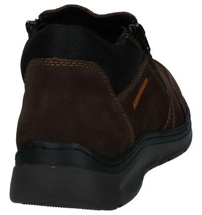Bruine Boots met Rits Rieker, Bruin, pdp