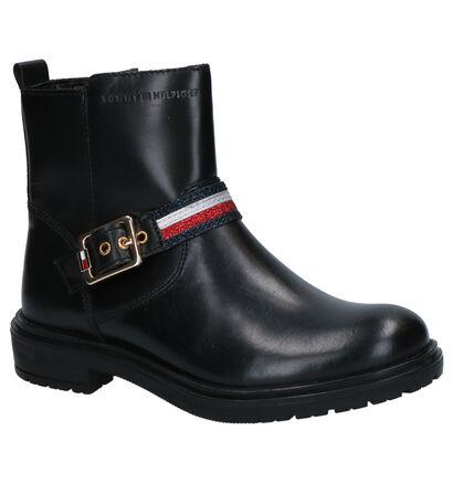 Tommy Hilfiger Chaussures hautes en Noir en cuir (256952)