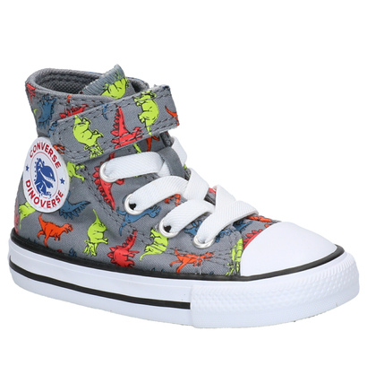 Converse Chuck Taylor All Star High Sneakers Zwart in stof (266011)
