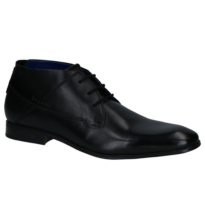 Bugatti Mattia Chaussures habillées en Noir en cuir (281778)