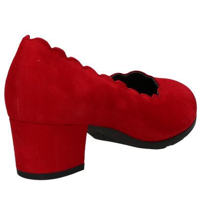 Gabor Comfort Escarpins en Rouge en daim (260206)
