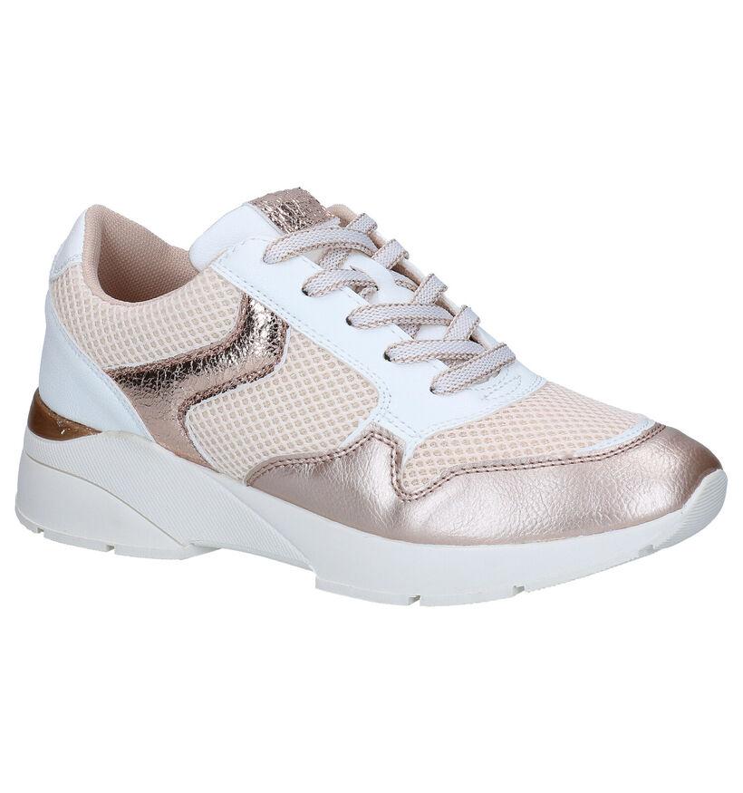 Sprox Beige Sneakers in kunstleer (292582)