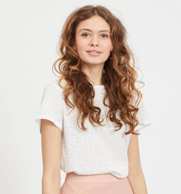 Vila Anita T-shirt en Blanc