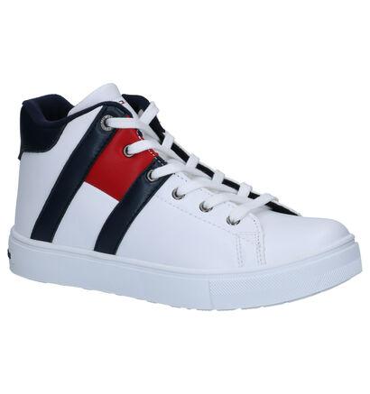 Tommy Hilfiger Blauwe Sneakers in imitatieleer (257344)