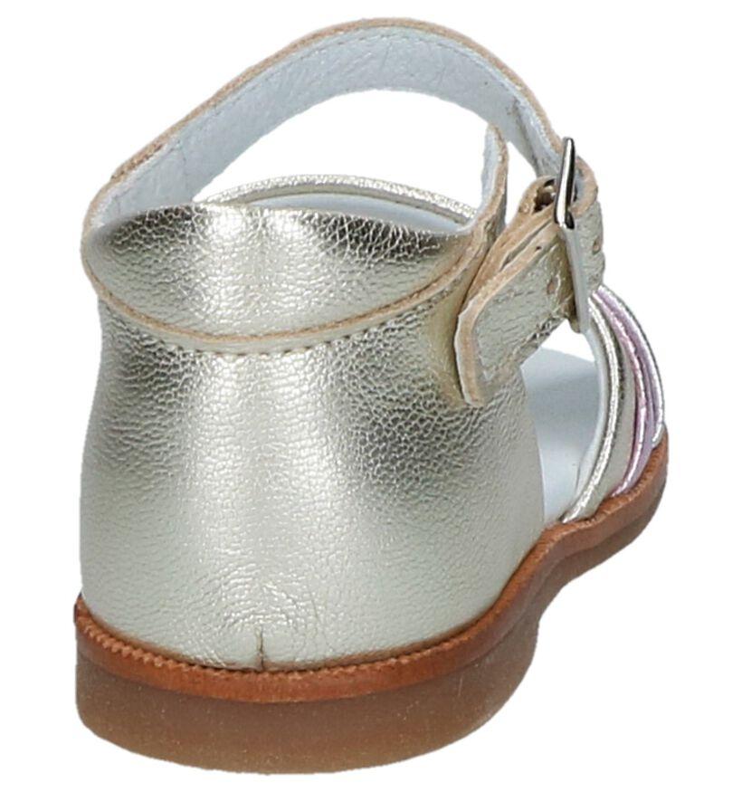 Beberlis Sandales pour bébé en Or en cuir (245730)
