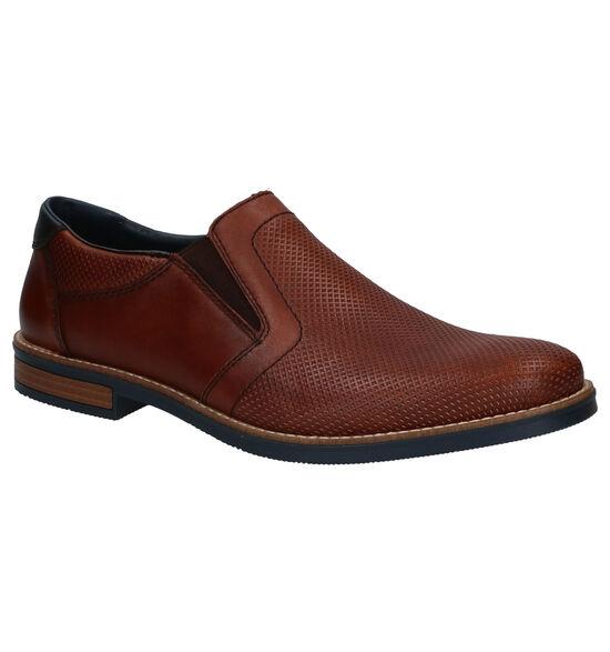 Rieker Chaussures slip-on en Cognac