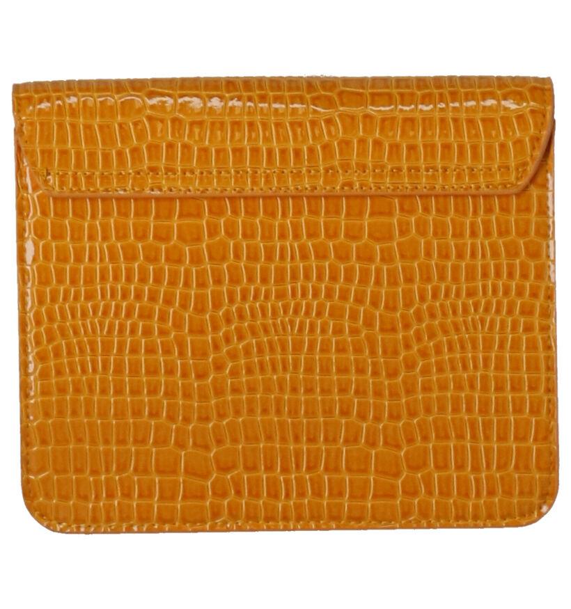Hvisk Cayman Pocket Vegan Zwarte Crossbody Tas in kunstleer (287565)