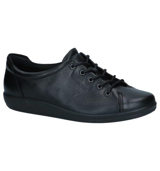 Soft Chaussures à lacets en Noir