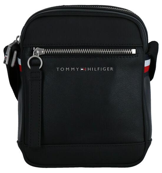 Tommy Hilfiger TH Metro Sac porté croisé en Noir