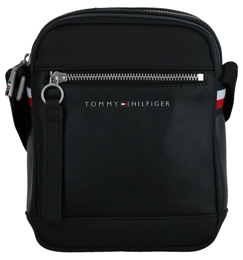 Tommy Hilfiger TH Metro Sac porté croisé en Noir en simili cuir (264604)