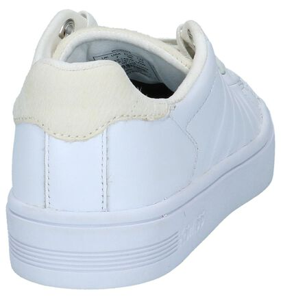 K-Swiss Court Frasco Sneakers Wit in leer (225406)