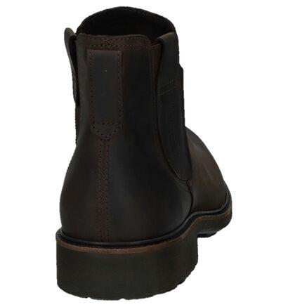 Camel Active Chelsea Bruine Boots in leer (259388)