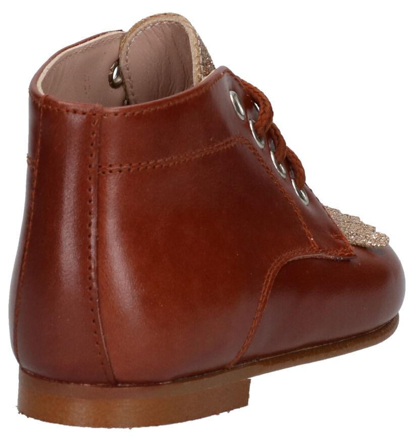 Eli Chaussures pour bébé  en Cognac en cuir (260863)