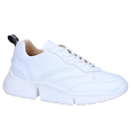 Witte Sneakers Deabused