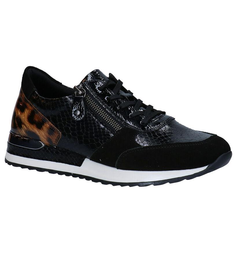 Remonte Chaussures à lacets en Noir en cuir (277634)
