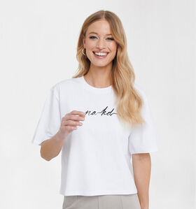 NA-KD Witte T-shirt (283960)
