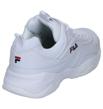 Fila Ray Roze Sneakers in kunstleer (253532)