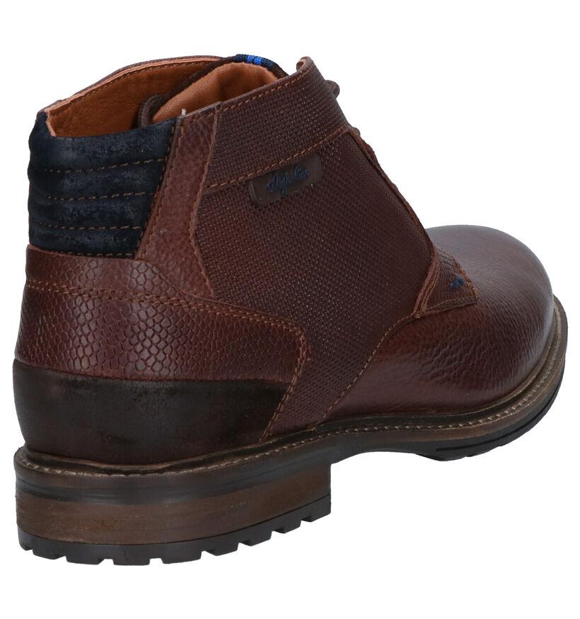 Australian Clearwater Chaussures hautes en Marron en cuir (256200)