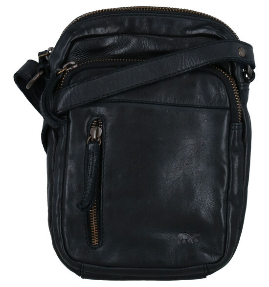 Bear Design Zwarte Crossbody Tas