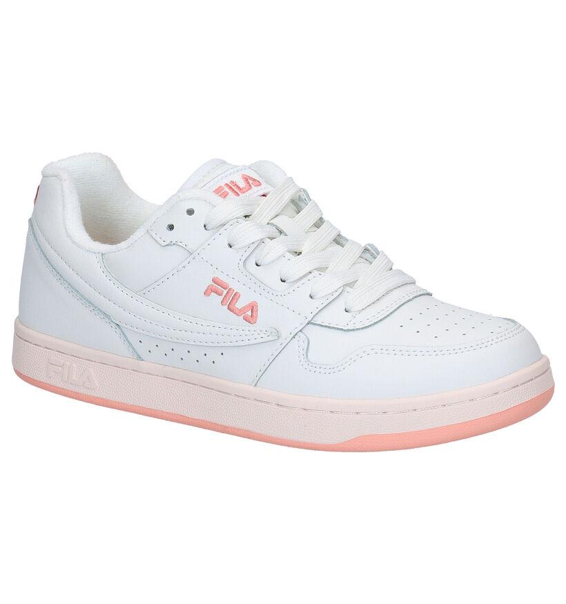 Fila Arcade Low Witte Sneakers in kunstleer (274636)
