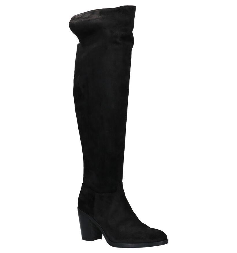 Red Rag Zwarte Overknee Laarzen in daim (281815)