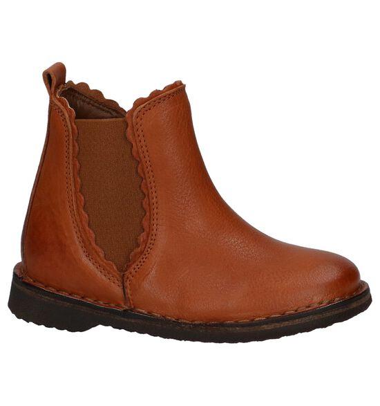 Bisgaard Cognac Geklede Boots