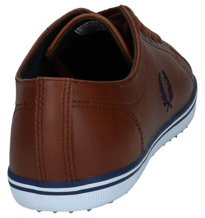 Fred Perry Chaussures basses  (Blanc), Cognac, pdp