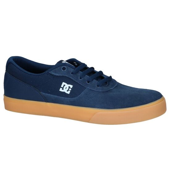 Donkerblauwe Sneakers DC Shoes Switch