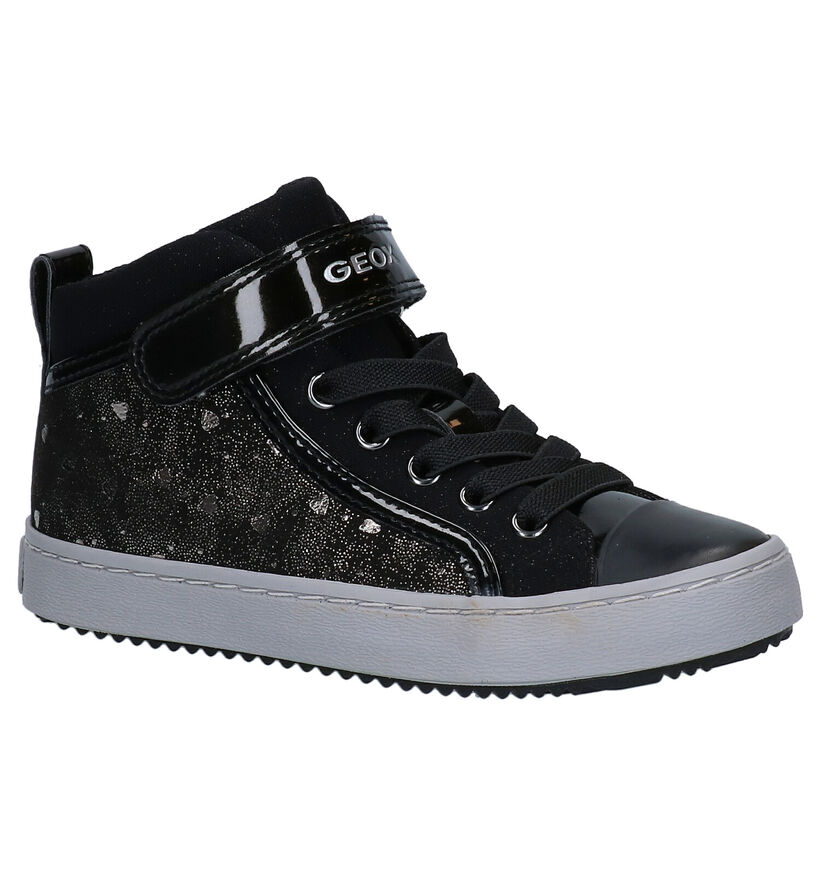 Geox Chaussures hautes en Noir en simili cuir (278292)