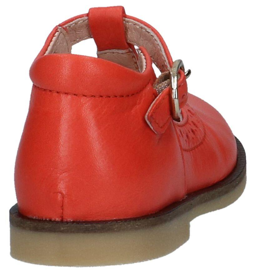 STONES and BONES Chaussures pour bébé  en Rouge clair en cuir (240774)