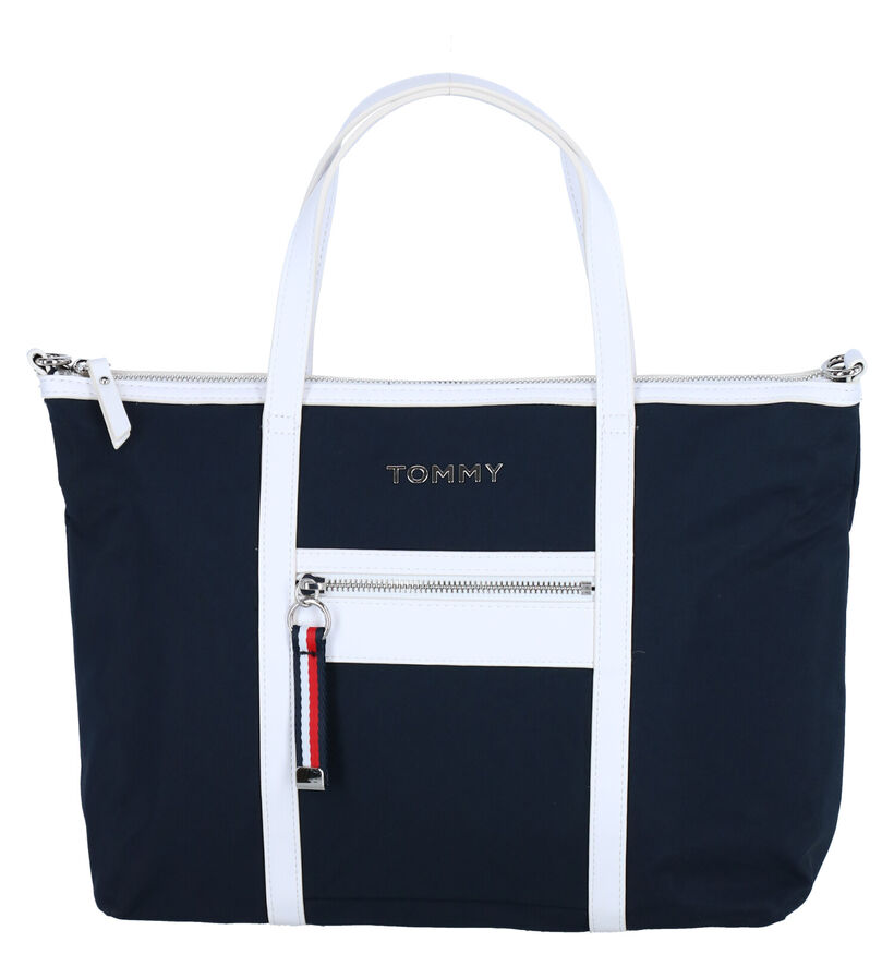 Tommy Hilfiger Blauwe Shopper in stof (276507)